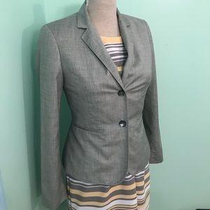 Calvin Klein gray lined business / work blazer